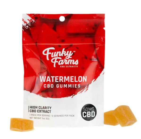 Funky Farms Watermelon CBD Gummies