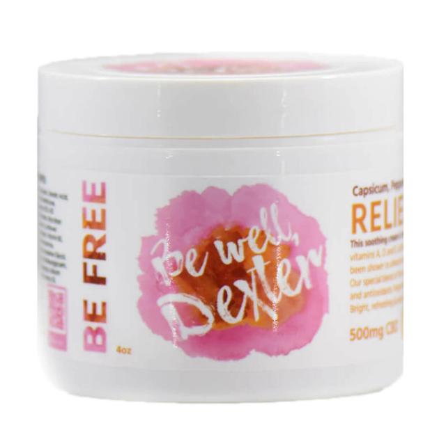 Be Well Dexter CBD TopicalRelief Cream