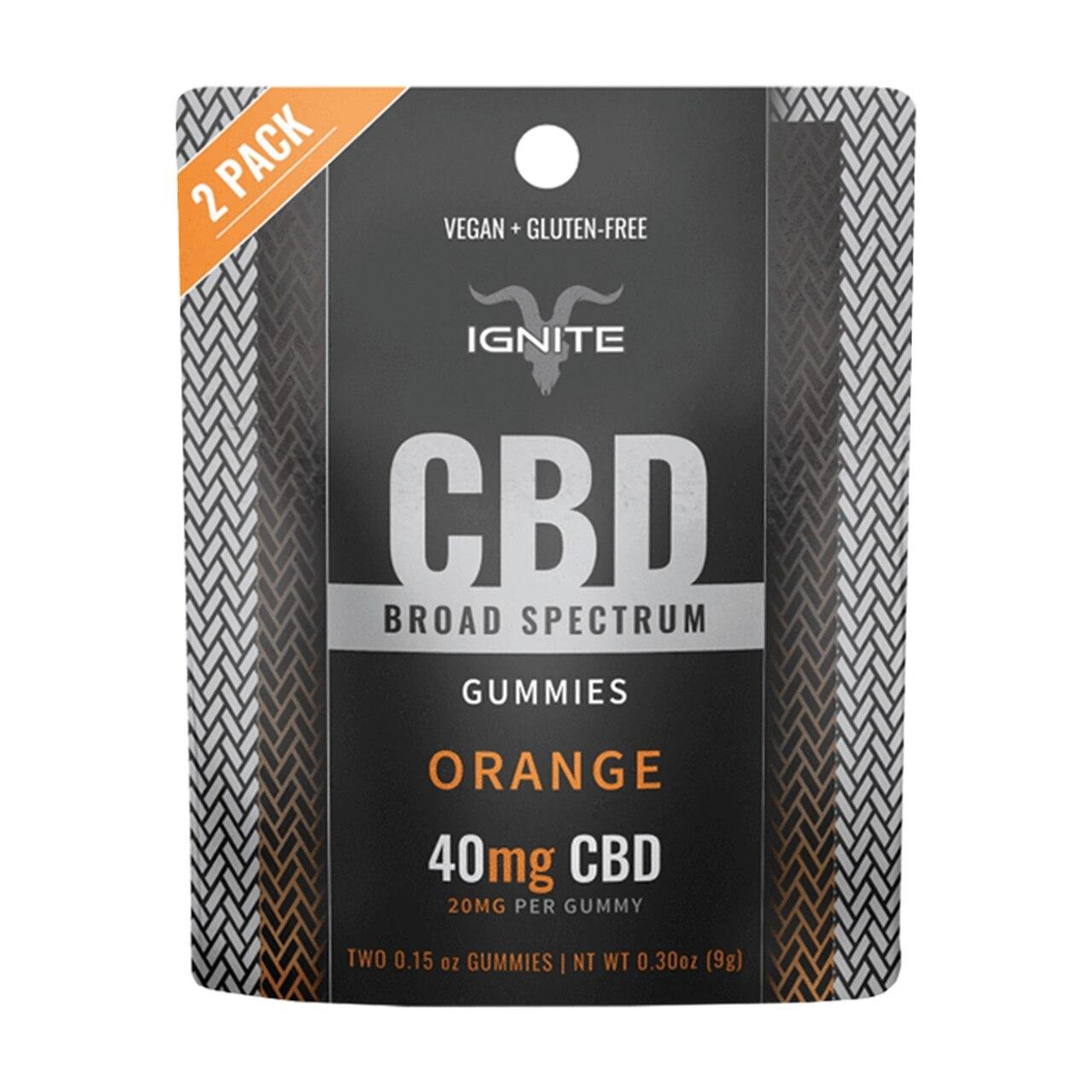 Ignite CBD Broad-Spectrum CBD Gummies