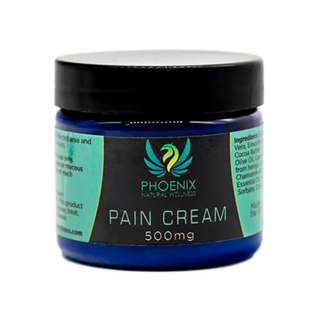 Phoenix Natural Wellness - CBD Topical Pain Cream