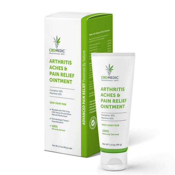CBDMedic Arthritis Aches & Pain Relief Cream