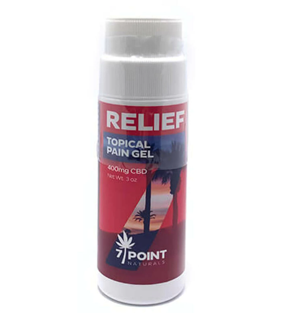 7 Point Naturals – CBD Topical - Roll-On Pain Gel