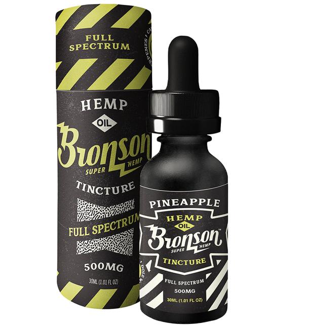 Bronson Hemp Full-spectrum Calming Pineapple CBD tincture