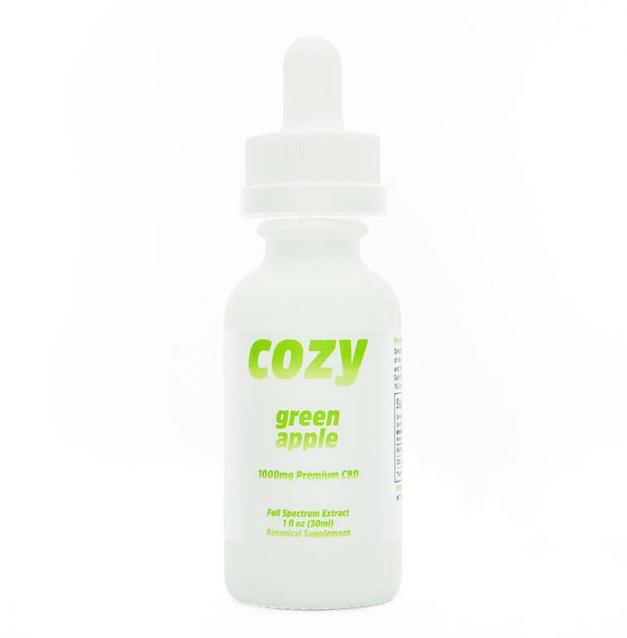 Cozy Green Apple CBD tincture